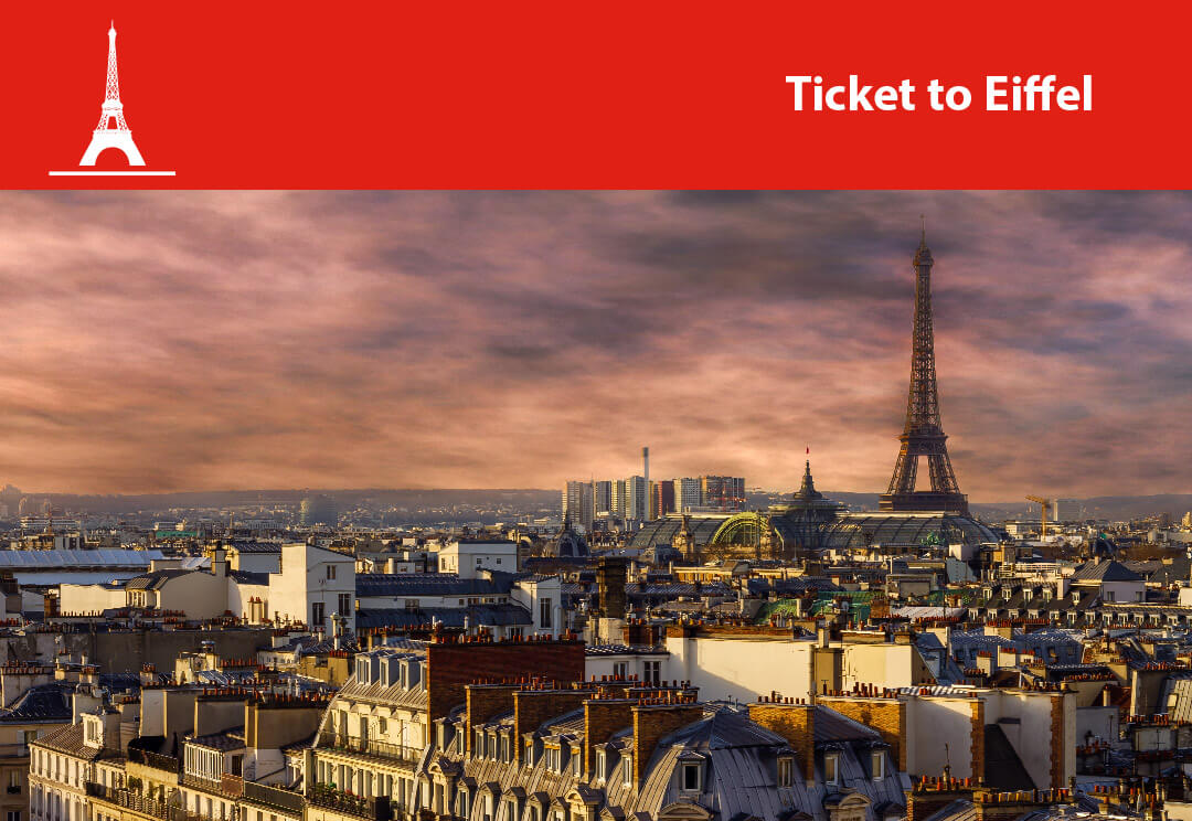 Eiffel Tower Ticket with Priority Access and Audio Guide