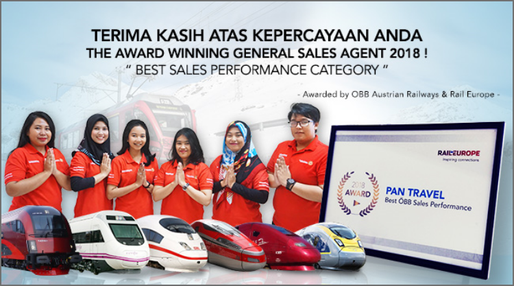 The Award Winning General Sales Agent 2018