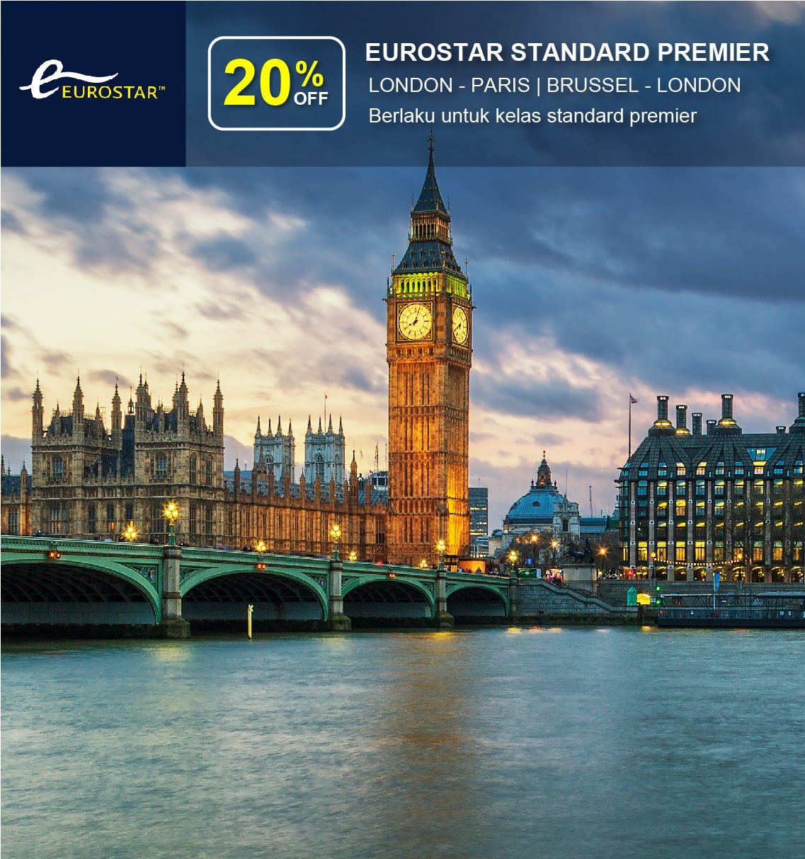 Eurostar Early Bird Promotion